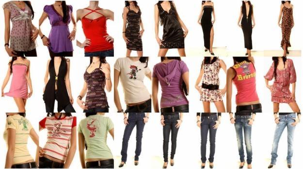 A Pinzolo, vendita promozionale abbigliamento