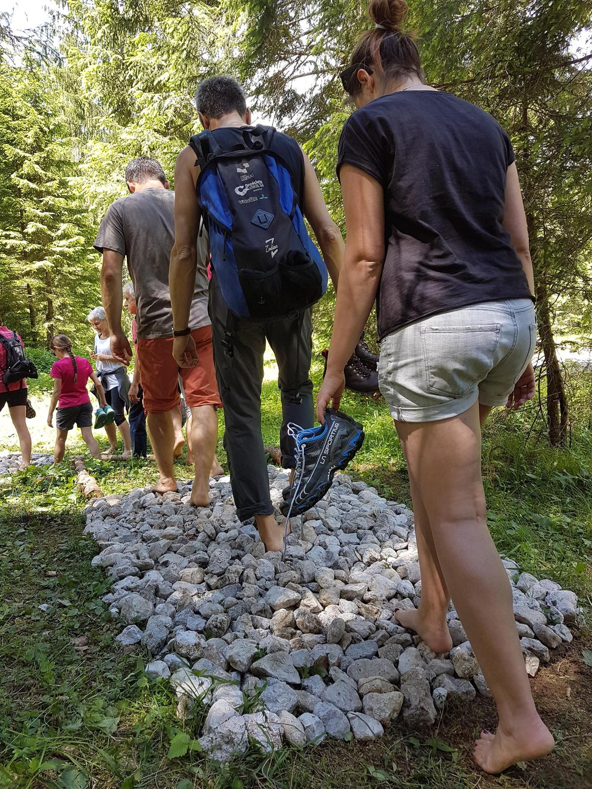 Dolomiti Natural Wellness bare foot trail
