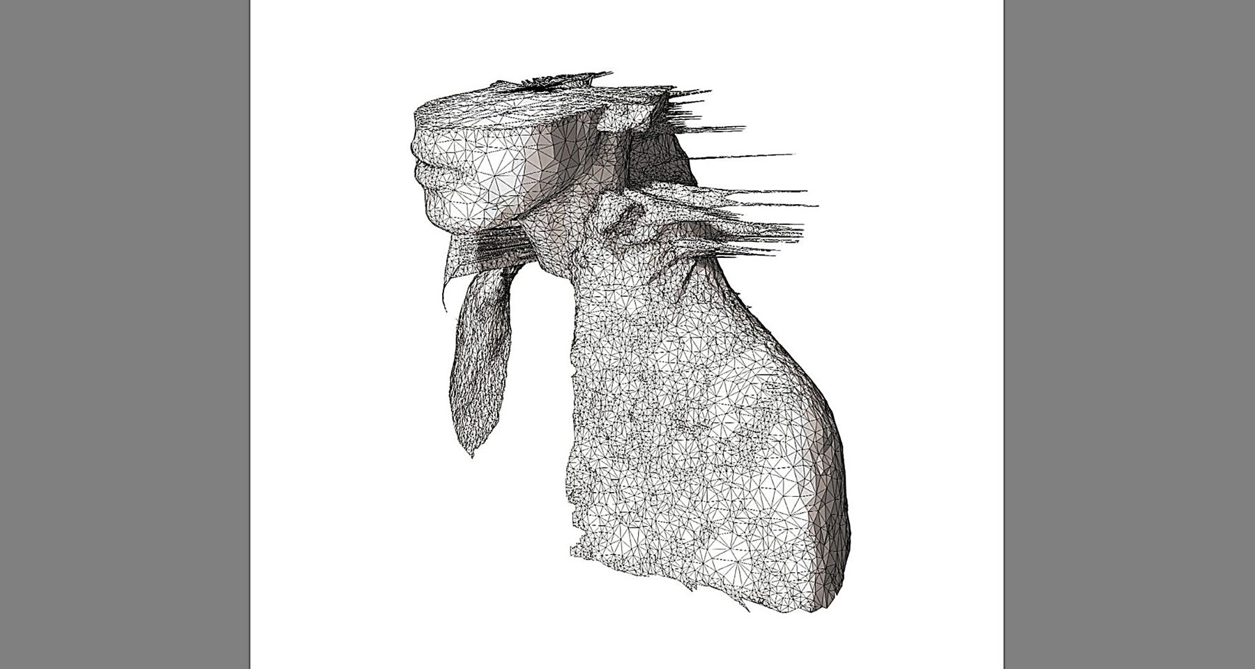 COLDPLAY, A RUSH OF BLOOD TO THE HEAD – 2002. COVER ART - GLI INVOLUCRI D'ARTE DELLA MUSICA