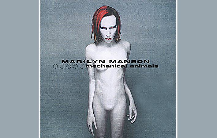COVER ART - Gli involucri d'arte della musica . Marilyn Manson, Mechanical Animals – 1998