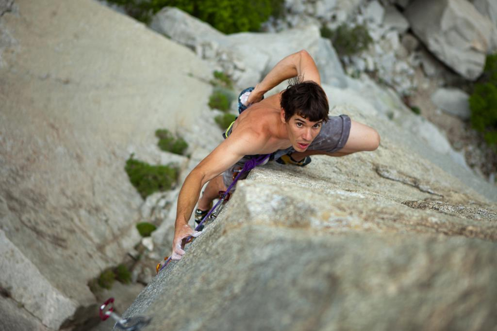 Alex Honnold and Tommy Caldwell Trento Film Festival