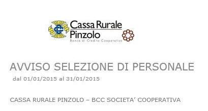 Cassa Rurale Pinzolo ricerca Personale