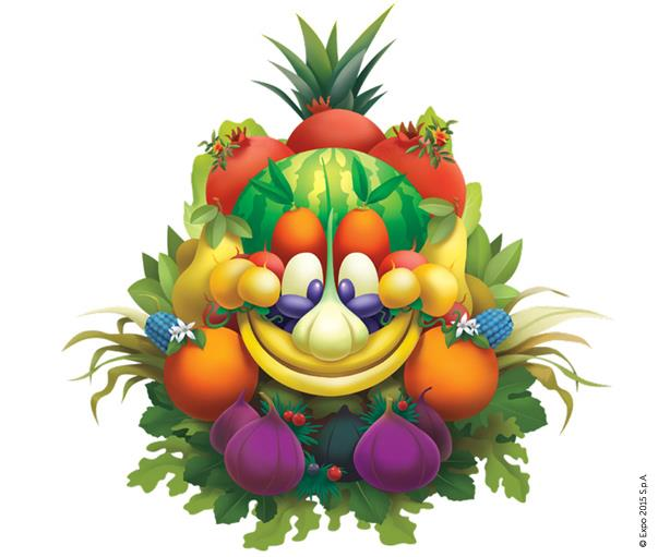 Foody mascotte expo 2015